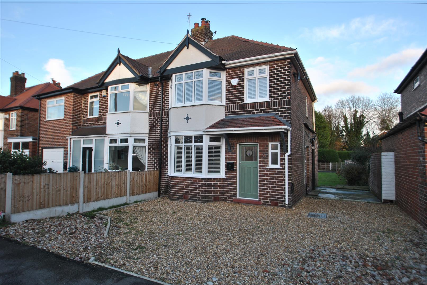 3 Bedrooms Semi Detached House for sale in Lindi Avenue, GRAPPENHALL, Warrington, WA4